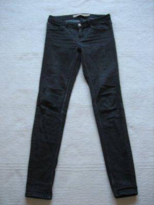 zara skinny jeans grau gr. s 36 top