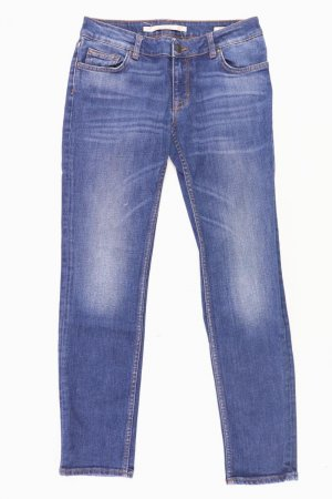 Zara Skinny Jeans Größe 34 blau aus Baumwolle