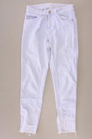Zara Skinny Jeans Größe 34 gestreift blau
