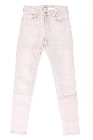 Zara Skinny Jeans Größe 34 grau aus Baumwolle