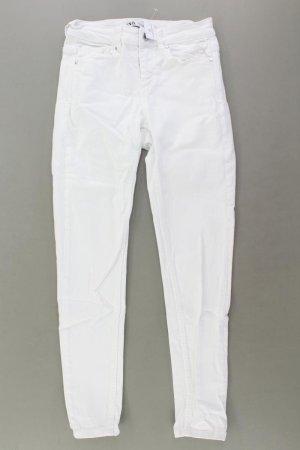 Zara Skinny Jeans Größe 36 weiß aus Baumwolle