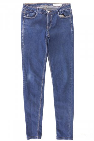 Zara Skinny Jeans Größe 38 blau aus Baumwolle