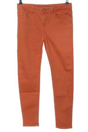Zara Skinny Jeans hellorange Casual-Look