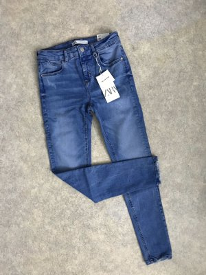 Zara Skinny Jeans Hose tolle Waschung Gr.36