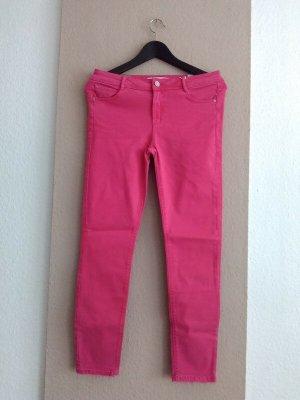 Zara Skinny Jeans in pink, push up, Grösse 38, neu