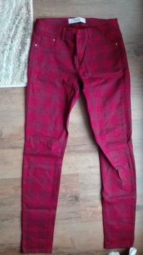Zara skinny jeans in rot