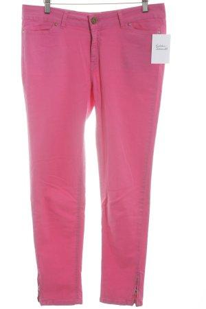 Zara Skinny Jeans magenta Casual-Look