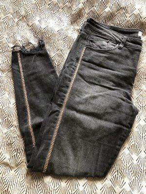 Zara 7/8-jeans veelkleurig