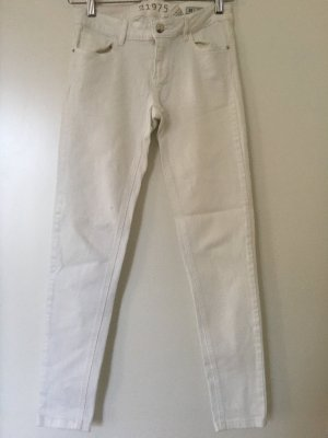 Zara Skinny Jeans weiß