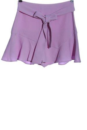 Zara Spódnico-spodenki fiolet W stylu casual