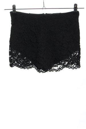 Zara Skort noir style décontracté