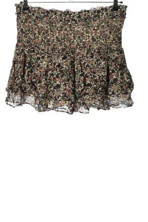 Zara Skorts Allover-Druck Casual-Look