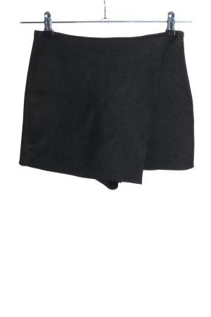 Zara Skorts schwarz Casual-Look