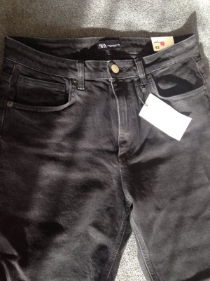 Zara Slim Fit Jeans High Rise Ankle length 42