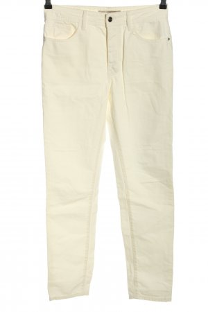Zara Slim Jeans creme Casual-Look