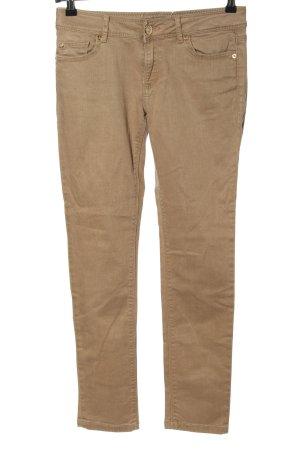 Zara Slim Jeans wollweiß Casual-Look