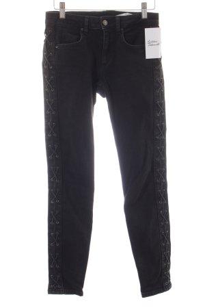 Zara Slim Jeans anthrazit Street-Fashion-Look