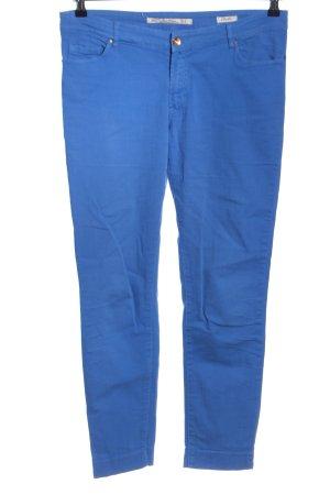 Zara Slim Jeans blau Casual-Look