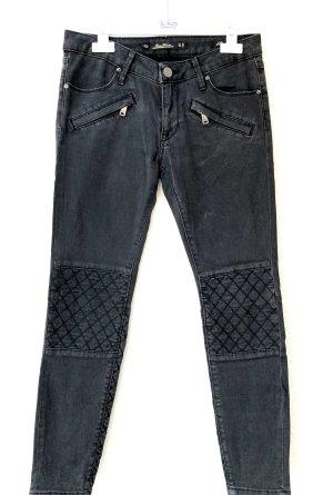 Zara Slim Jeans Grau Gr. 36