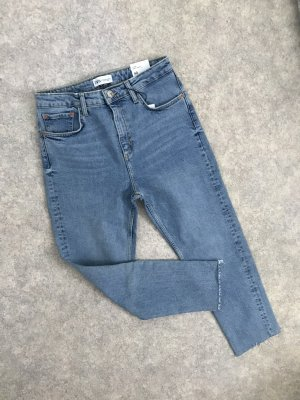 Zara Slim Jeans High Waist Gr.40