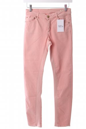Zara Slim Jeans rosé schlichter Stil