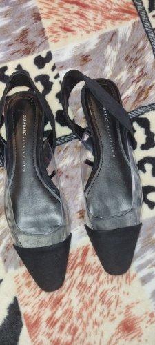 Zara Basic Slingback Pumps black