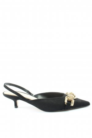 Zara Slingback pumps zwart elegant