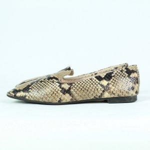 Zara Pantofola multicolore Finta pelle