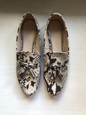 Zara Instappers wolwit-beige