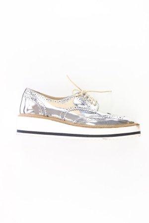 Zara Sneaker silber Größe 37