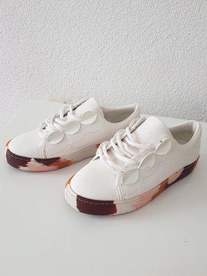 Zara Chaussure skate blanc