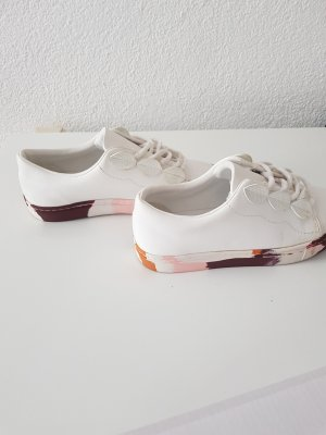 Zara Skaterschoenen wit