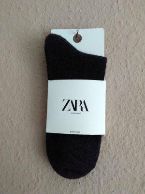 Zara Legwarmers dark grey-anthracite cashmere