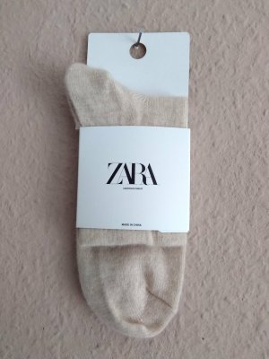 Zara Legwarmers oatmeal cashmere