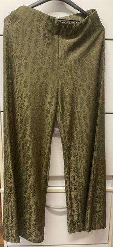 Zara Pantalon Marlene gris vert-kaki