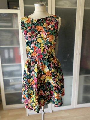 Zara Basic Empire Dress multicolored