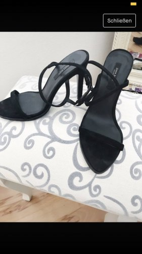 Zara Sommer Sandaletten schwarz