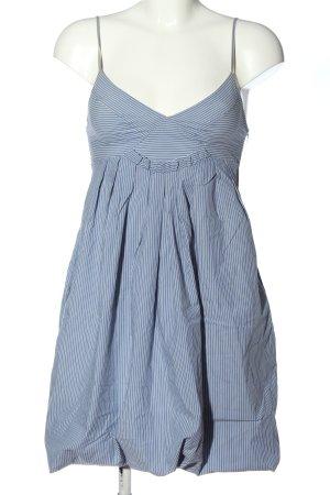Zara Sommerkleid blau-weiß Allover-Druck Casual-Look