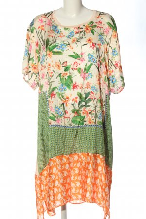 Zara Sommerkleid Blumenmuster Casual-Look