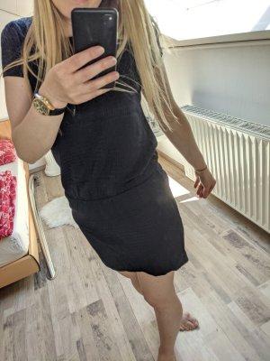 Zara Sommerkleid mit Hahnentrittmuster