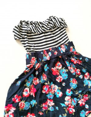 Zara Sommerkleid Muster Mix