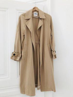 Zara Trench Coat multicolored viscose