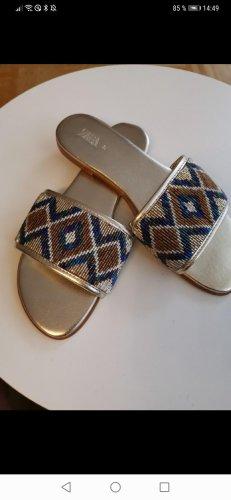 Zara Pantofola oro