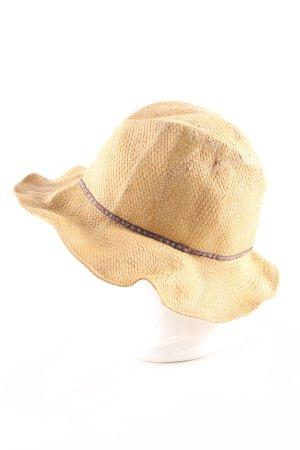 Zara Cappello parasole crema stile casual