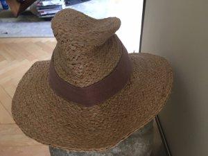 Zara Sombrero de ala ancha camel