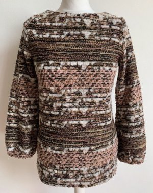Zara Basic Norwegian Sweater multicolored