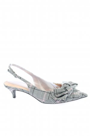 Zara Spitse pumps abstract patroon casual uitstraling