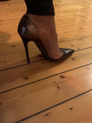 Zara Woman Spitse pumps brons