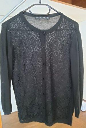 Zara Knit Jersey Twin-Set negro