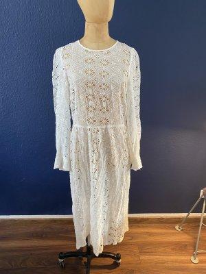 Zara Spitzen Kleid Gr L mit Unterkleid